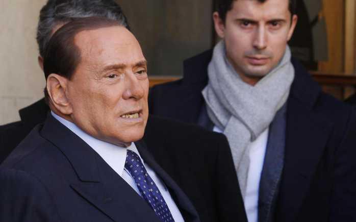Macerata, Berlusconi: