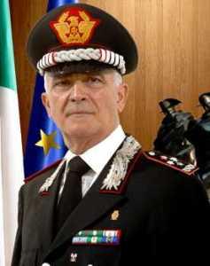 Cattura Fazzalari, il generale Tullio Del Sette in visita a Taurianova