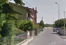 Via Maggi a Piacenza dove Davide Giuliani ha ucciso la moglie Simona Rossi