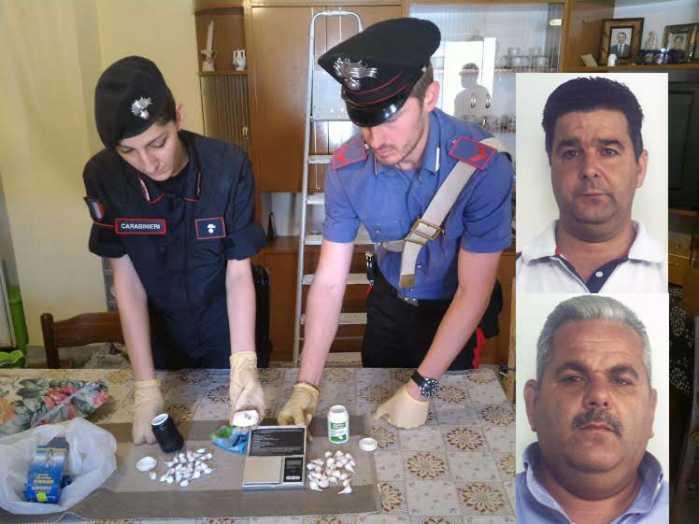 I carabinieri e i fratelli Taverna di Cutro