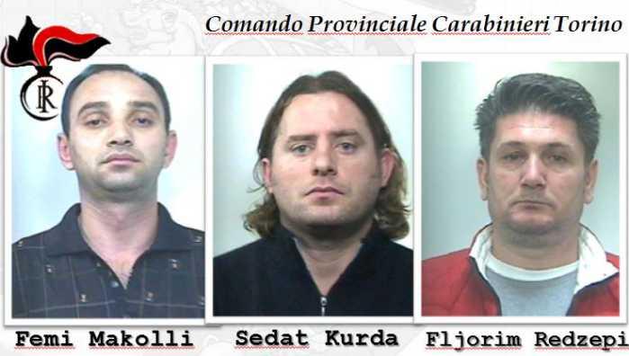 kosovari arrestati torino