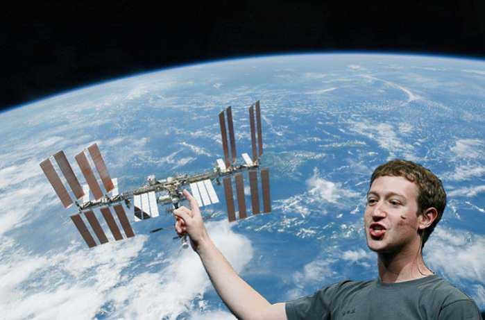 Mark Zuckemberg parlerà via Facebook con la Stazione Spaziale