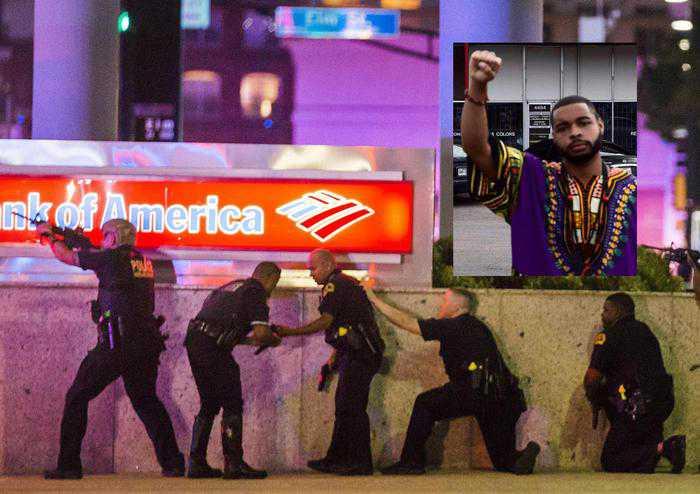 Strage di poliziotti a Dallas durante un corteo di protesta