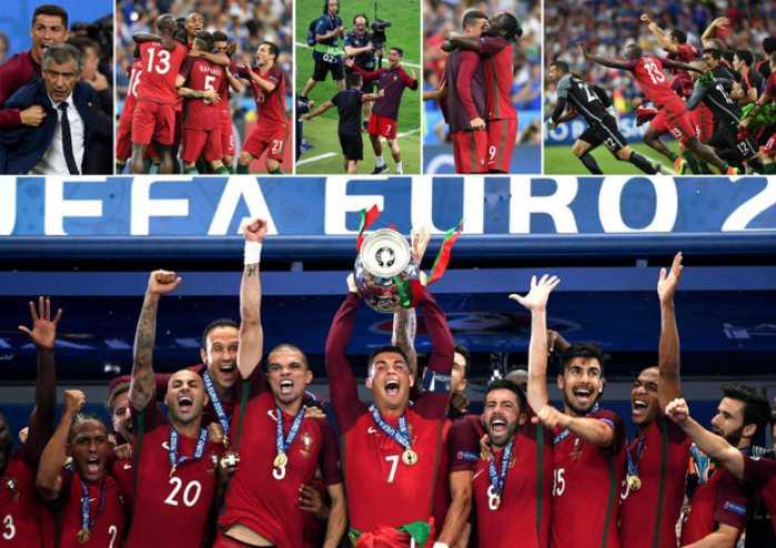 Portogallo campione Euro2016
