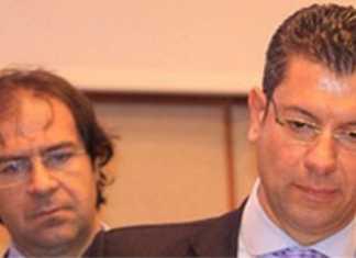 Alberto Sarra e Giseppe Scopelliti