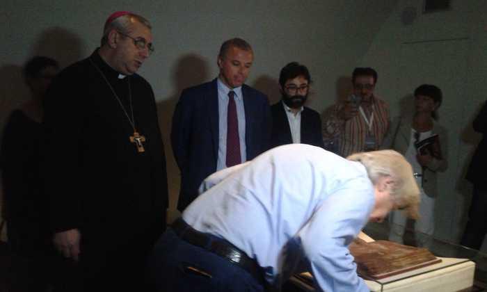 Il Codex Purpureus Rossanensis è tornato a Rossano
