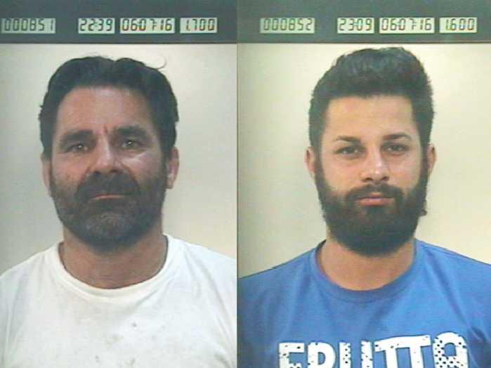 Armi e droga, arrestati padre e figlio a Petilia Policastro