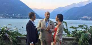 Mark Zuckerberg sul lago di Como per festeggiare il matrimonio amici