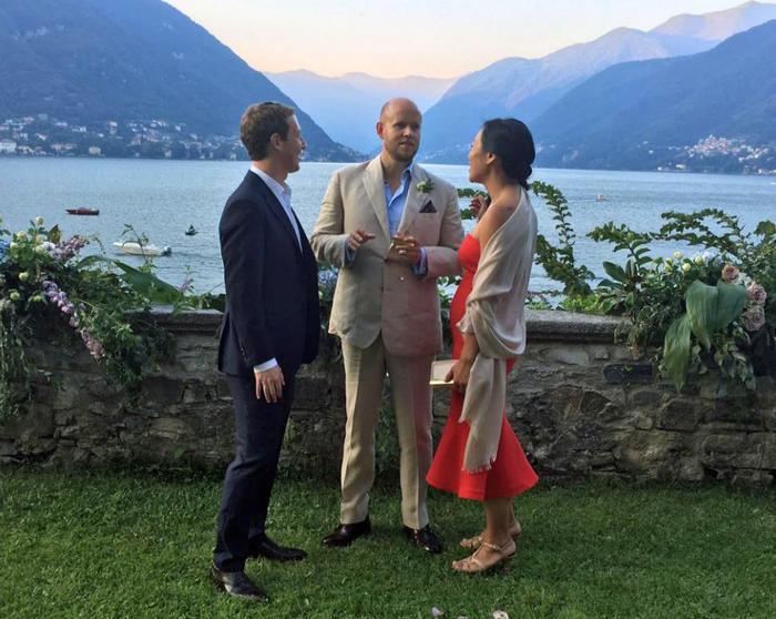Mark Zuckerberg sul lago di Como per festeggiare il matrimonio di Daniel Ek