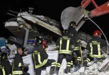 """Terremoto Italia centrale, Renzi a Rieti: """"Al momento ci sono 120 morti"""""""