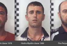 Gli arrestati per i furti a San Nicola Arcella