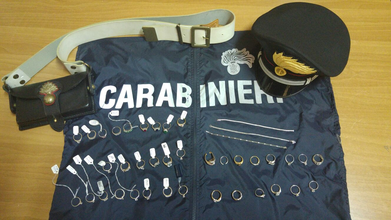 gioielli carabinieri
