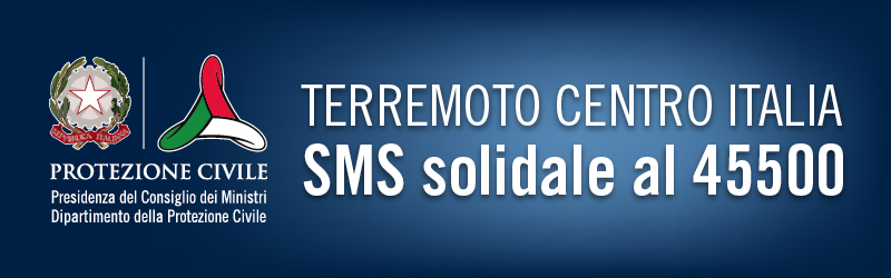 sms solidale terremoto rieti