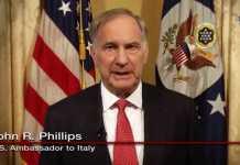 """L'ambasciatore Usa in Italia per il """"Si"""" al referendum. Polemiche"""