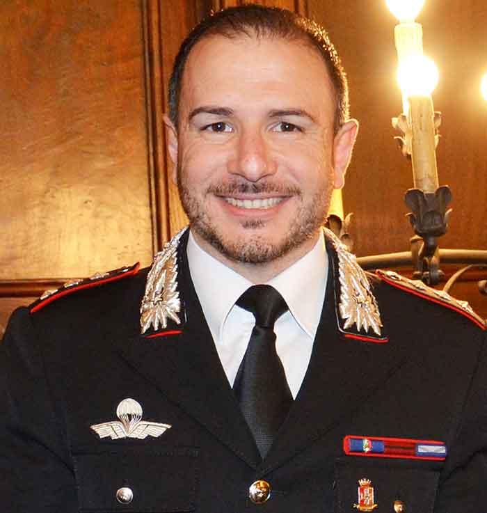 Il Capitano Sebastiano Maieli, nuovo comandante a Rende