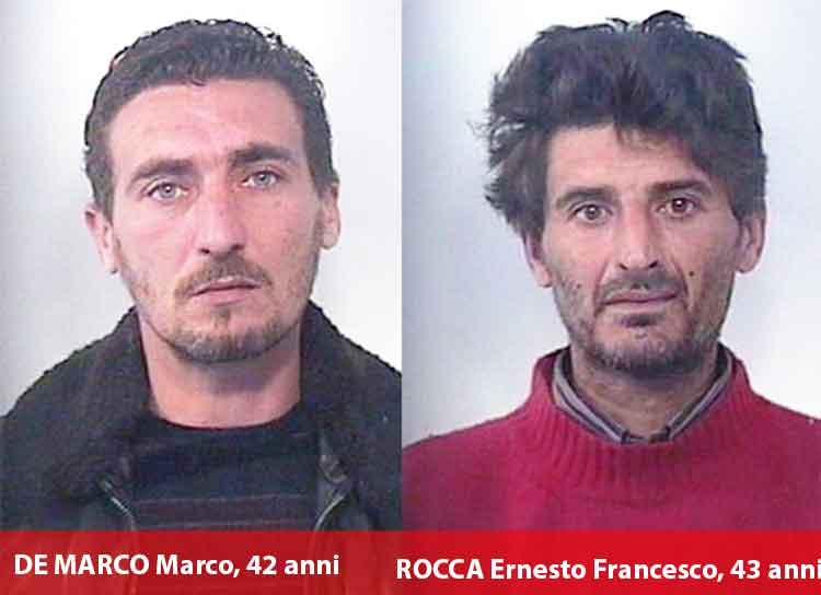 Sorpresi a rubare rame, arrestati due lametini a Platania