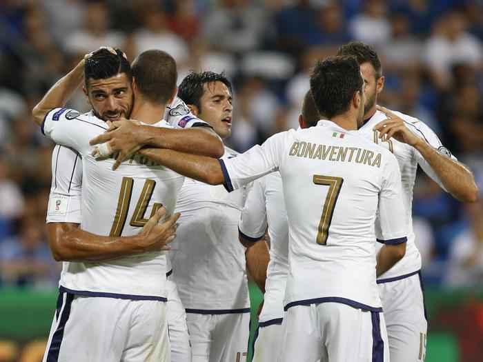 Qualificazione mondiali 2018, Israele Italia 1-3. Soddisfatto Ventura