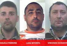 Estrosione a Casal di Principe, arrestati Perrone, Bitonto e Schiavone dei Casalesi