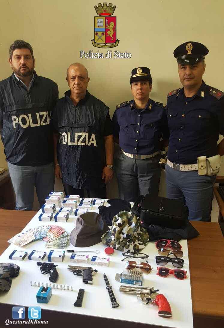 Roma, rapinatore incastrato dal Viagra. Arrestato dalla Polizia a Prati