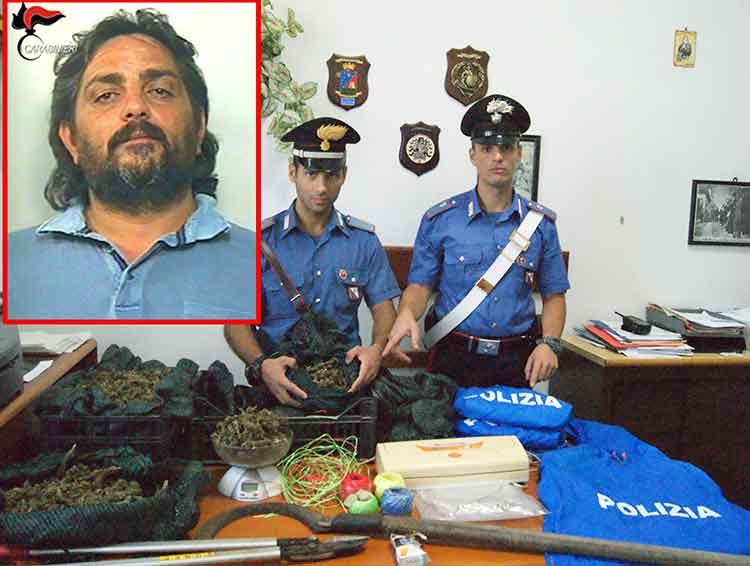 Rosarno, arrestato per droga