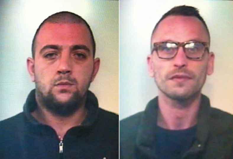 Avevano bombe pronte all'uso, arrestate due persone a Lamezia