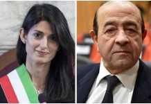 Virginia Raggi e Raffaele De Dominicis