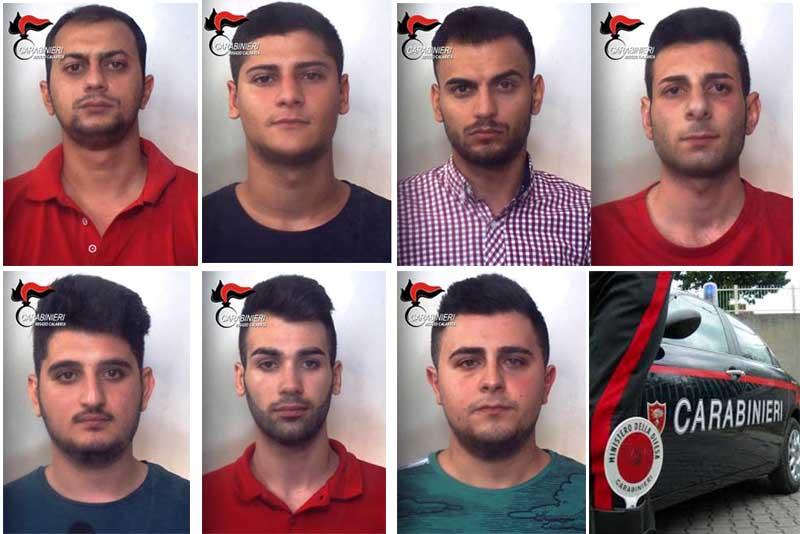 arrestati per violenza sessuale a Melito Porto Salvo