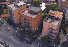 Crolla un altro palazzo a Roma. Molta paura ma nessun ferito