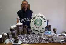 Operazioni antidroga a Roma: 9 arresti e sequestri di cocaina