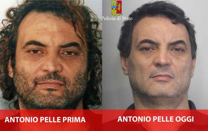 Antonio Pelle prima e dopo