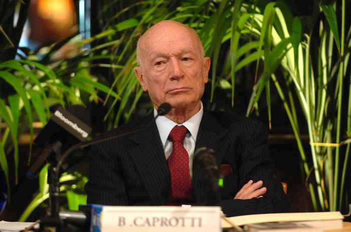 E' morto Bernardo Caprotti, re di Esselunga. Era contro le Coop rosse