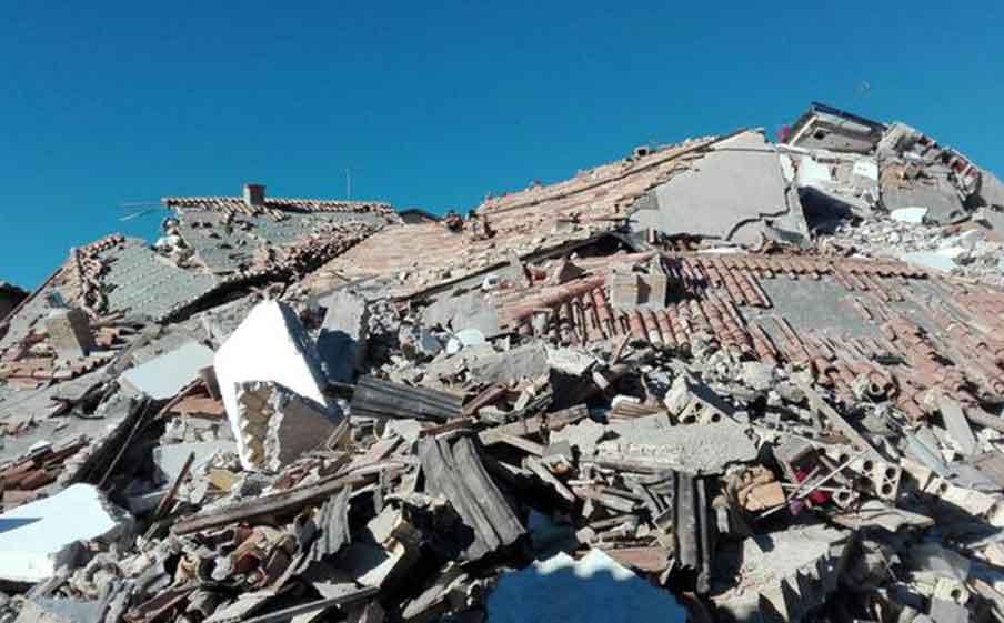 Terremoto, Castelluccio di Norcia rasa al suolo