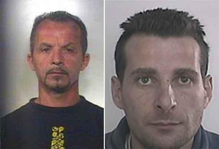 Blitz Locale Belvedere Spinello, arrestati due ricercati