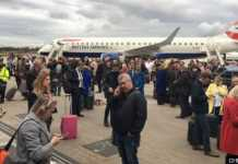 La pista del London City Airport