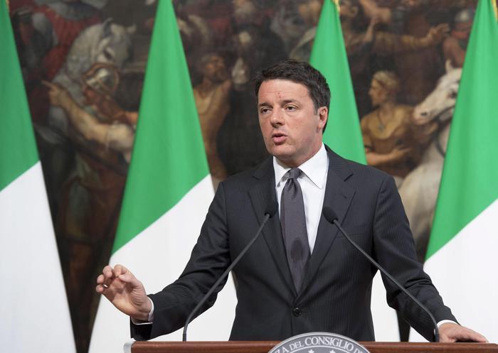 Renzi a Bruxelles: La manovra non cambierà