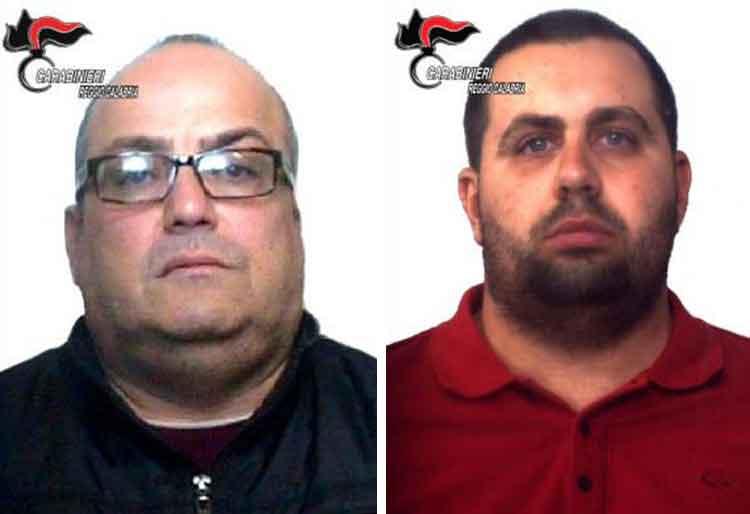Da sinistra Natale Paviglianiti e Francesco Leone