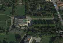 Il parco di Chiari dove sarebbe avvenuto lo stupro della ragazza