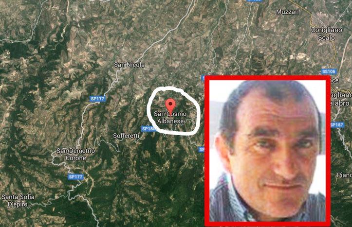 San Cosmo Albanese dove è avvenuto omicidio di Carmine Avato riquadro