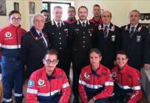 Rende, comandante dei carabinieri in visita ad associazione Arma