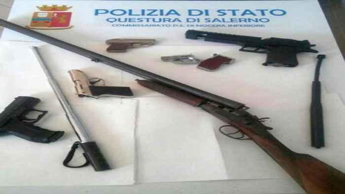 Armi in camera da letto, un arrestato a Gioia Tauro Antonio Martino Caccamo