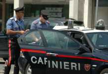 Un arresto effettuato dai carabinieri