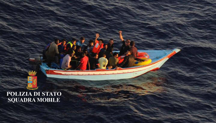 barchino migranti pozzallo