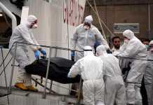 Il cadavere della donna trovata a bordo della nave Gregoretti al porto di Napoli
