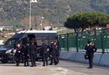 Carabinieri allo Stadio