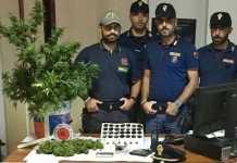 Aveva droga in casa, arrestato spacciatore a Crotone