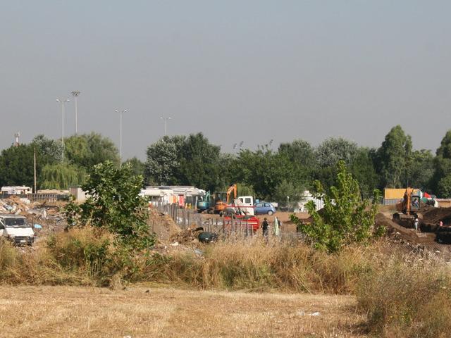 Il campo rom La Barbuta