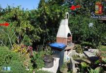 La mariuana nella villa degli insospettabili