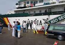 L'imbarcazione Rio Segura