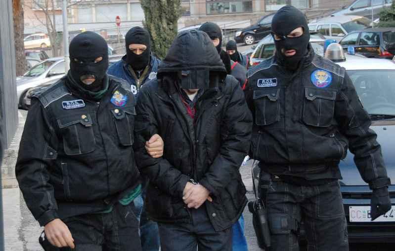 Blitz del Ros dei Carabinieri