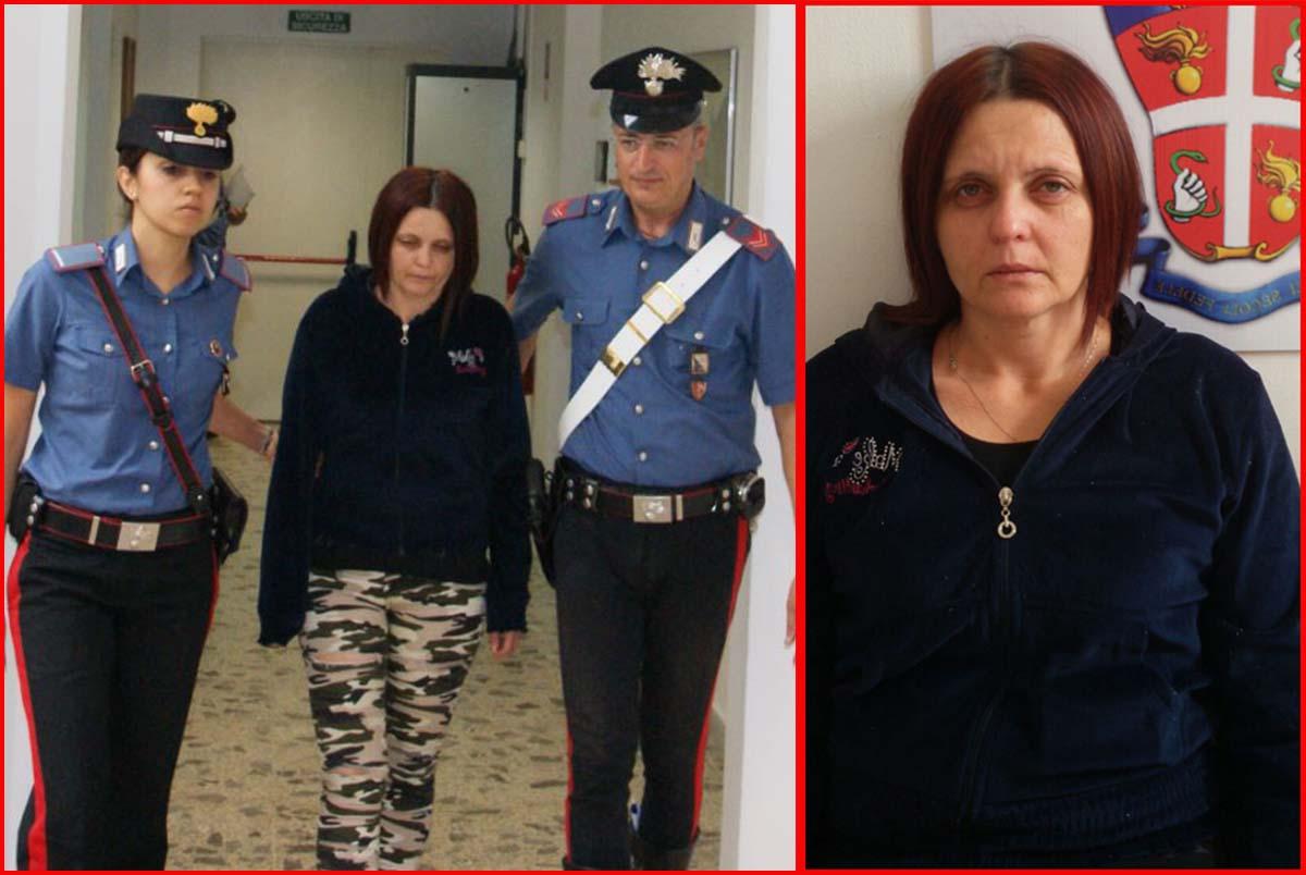 Angela Alupoae, la badante arrestata dopo che ha narcotizzato, picchiato e rapinato due anziani a Crotone